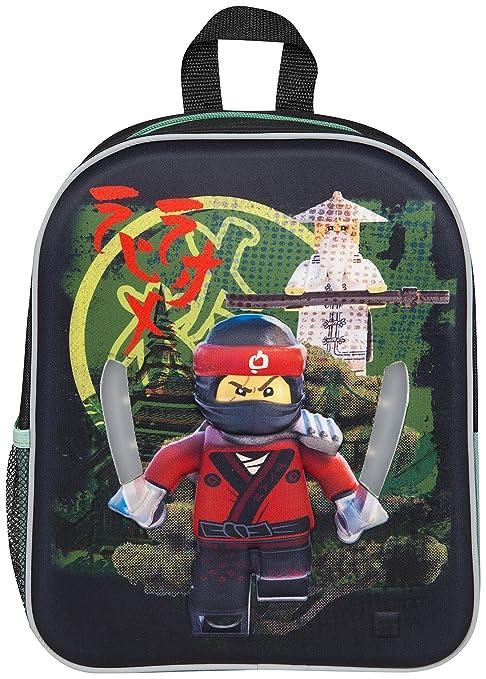 36f0485a7 Zaino a LED per film Lego Ninjago Zaino per scuola Kai Ninjago Zaino con  spade luminose
