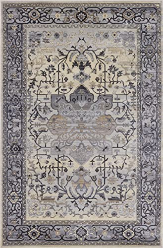 Pierre Cardin Cosmos Collection Oriental Traditional/Vintage Design Abstract Area Rugs