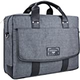 "Vangoddy Chrono Grey Carrying Tote Crossbody Shoulder Bag for Dell Alienware 15 | Inspiron 15 3000 5000 7000 Series 15.6"" Laptop"
