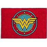 Excelsa Wonder Woman Zerbino, Fibra di Cocco, Rosso, 40x60x1.5 cm