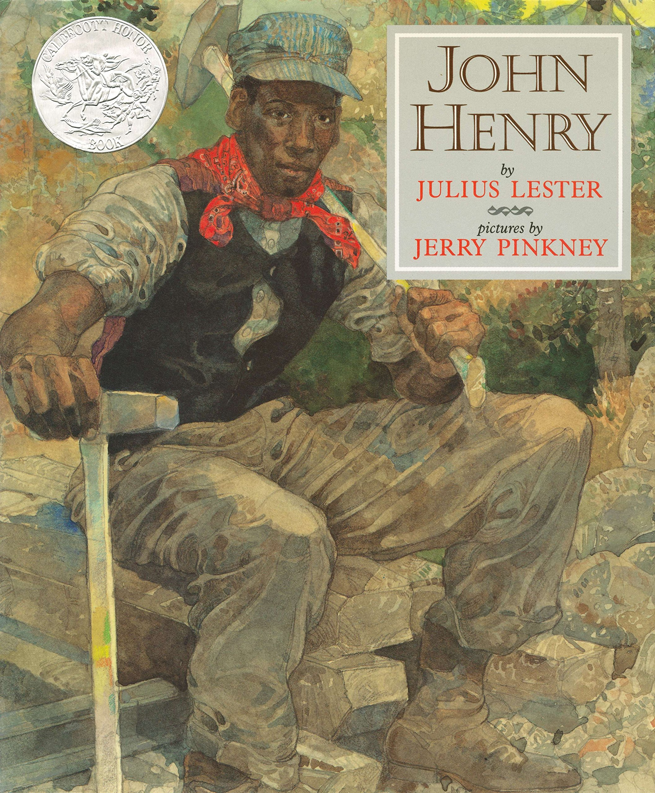 amazon john henry picture puffins julius lester jerry pinkney