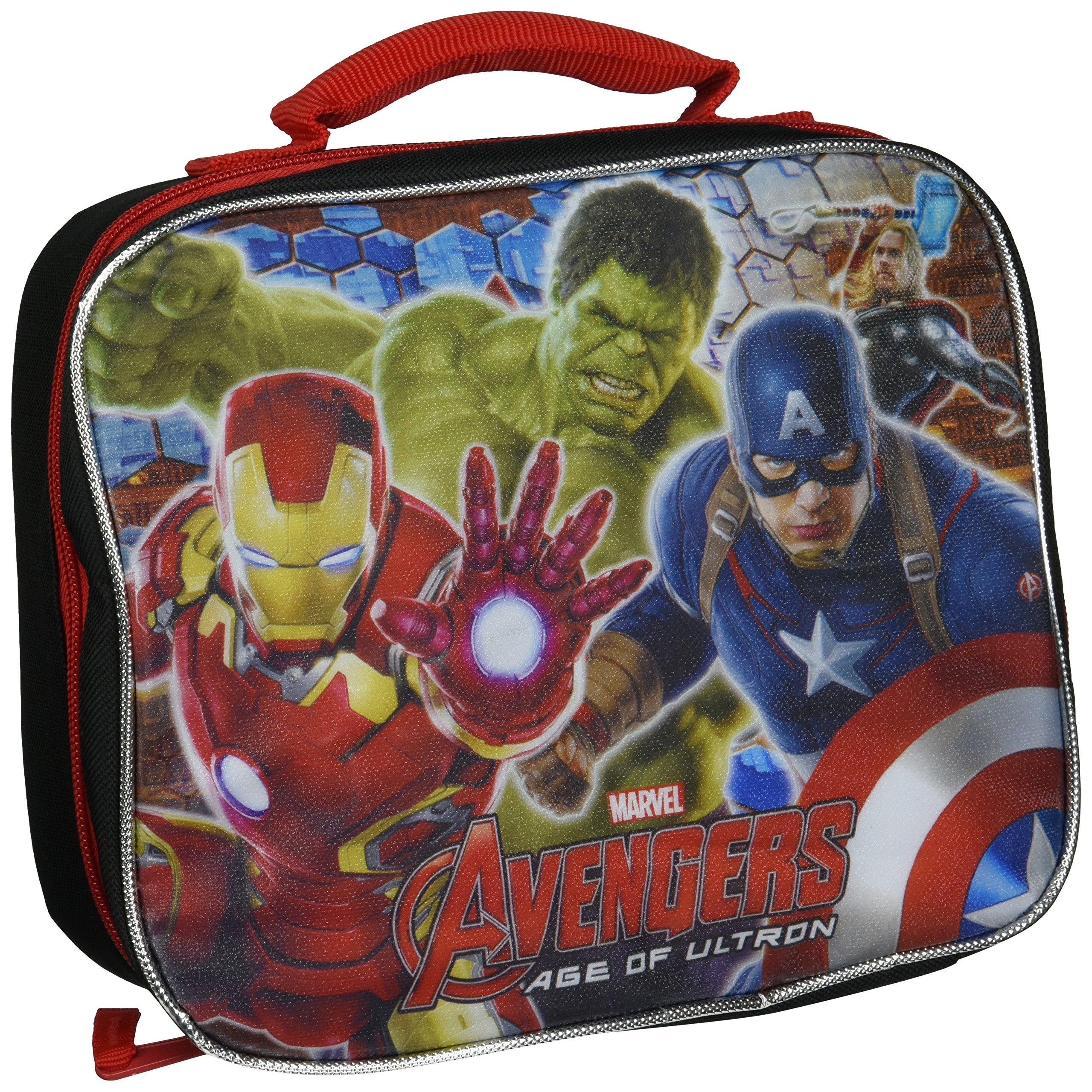 Marvel Avengers Lunch Bag Black 4