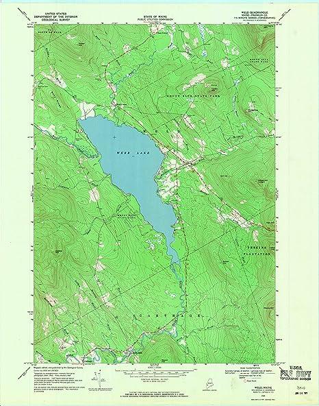 Amazon Com Yellowmaps Weld Me Topo Map 1 24000 Scale 7 5 X 7 5