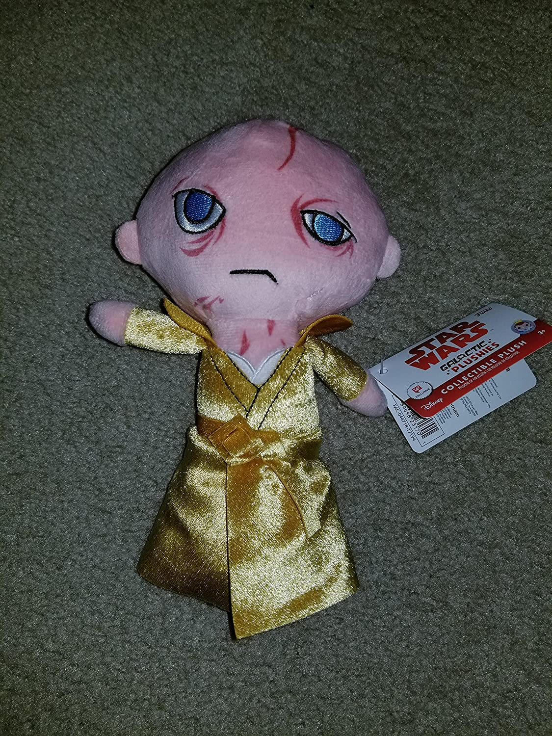QuStars Funko Star Wars Galactic Plushies Collectible Plush Toy (Snoke)