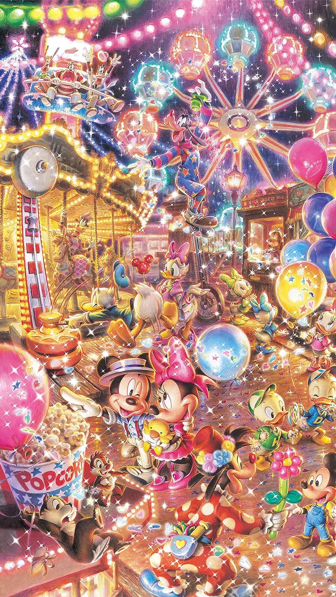 ディズニー トワイライトパーク フルHD(1080×1920)スマホ壁紙/待受画像