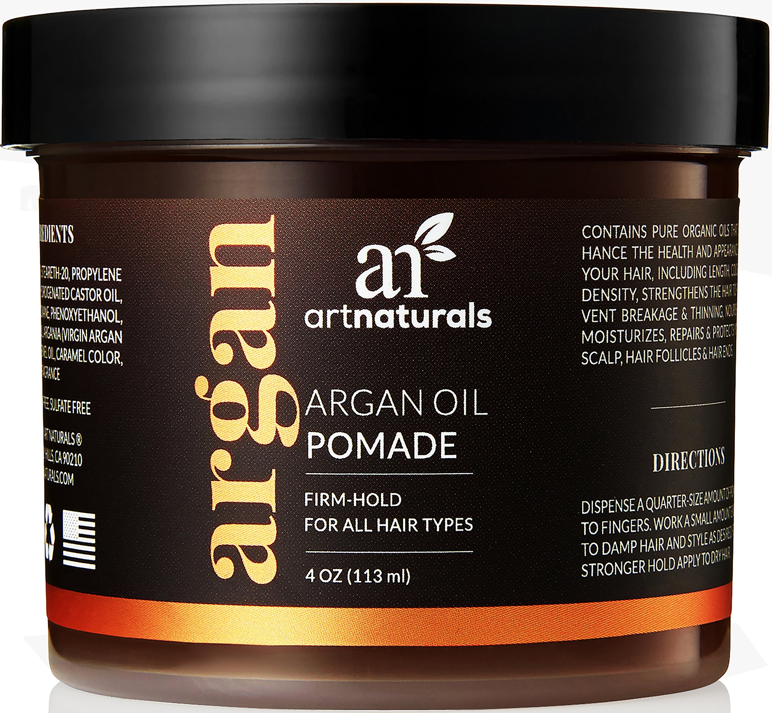 Matte Finish Hair With Natural Product Strong Hold