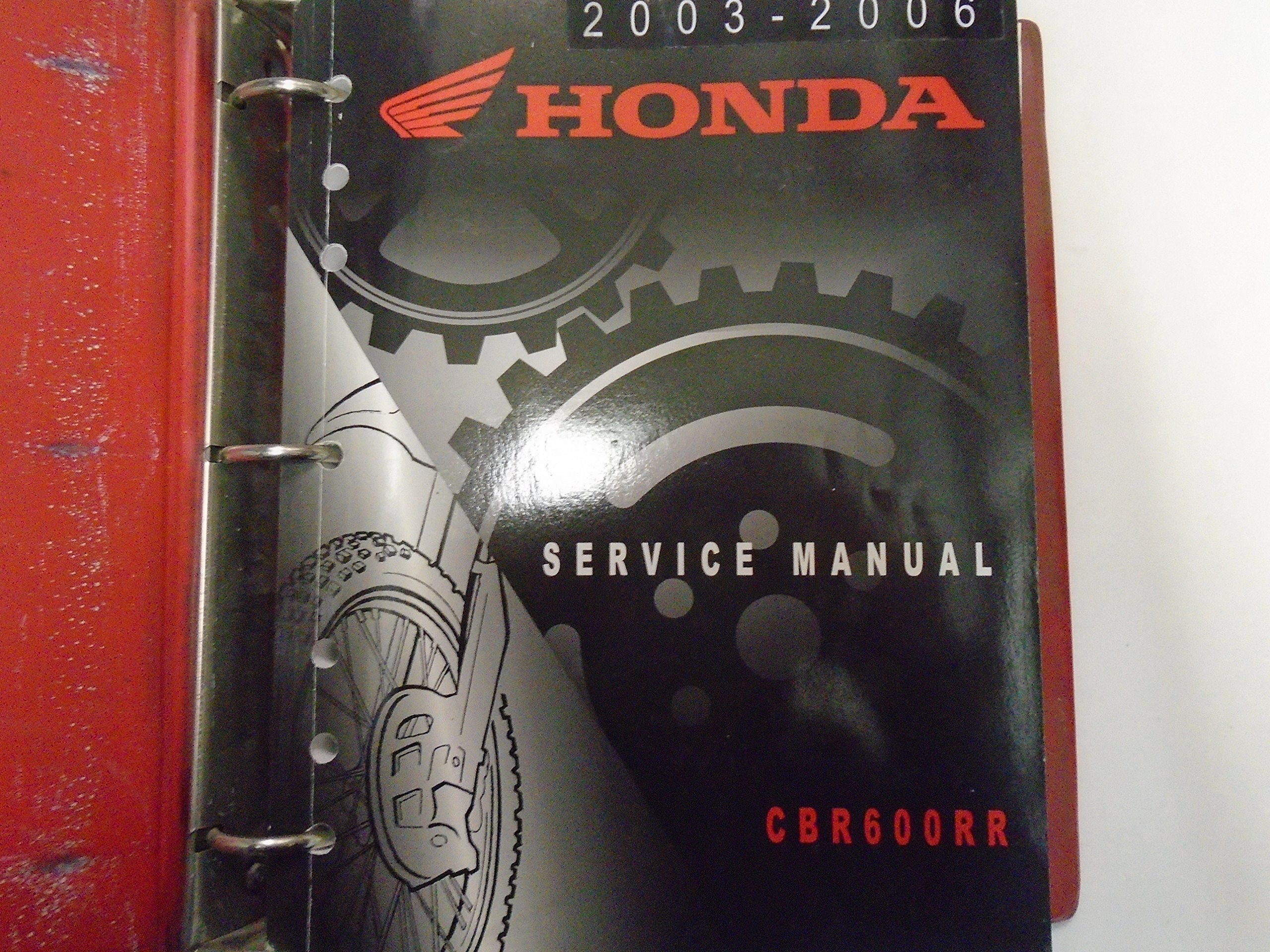 2003 2004 2005 2006 Honda Cbr600rr Service Shop Manual Factory Oem