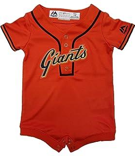 San Francisco Giants Alternate Orange Cool Base Newborn and Infant Romper 3c31a0e89