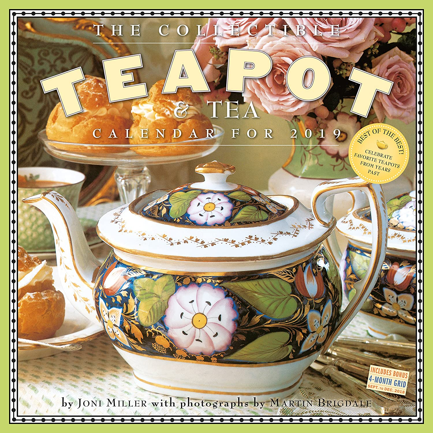 The Collectible Teapot & Tea Wall Calendar 2019 Workman Publishing Workman Publishing Company 1523503157 COOKING / General