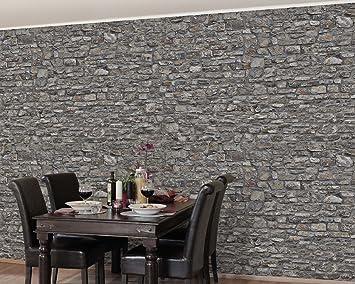 Elegant Apalis Stein /Vliestapete, Naturstein Tapete Alte Steinmauer, Fototapete  Breit | Vlies Tapete