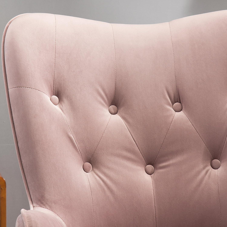 Amazon Roundhill Furniture Doarnin Contemporary Silky Velvet