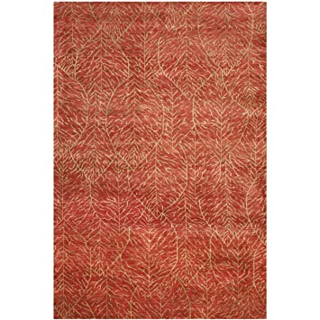 safavieh msr6342a martha stewart collection foliage wool area rug 8feet by 10 - Martha Stewart Rugs