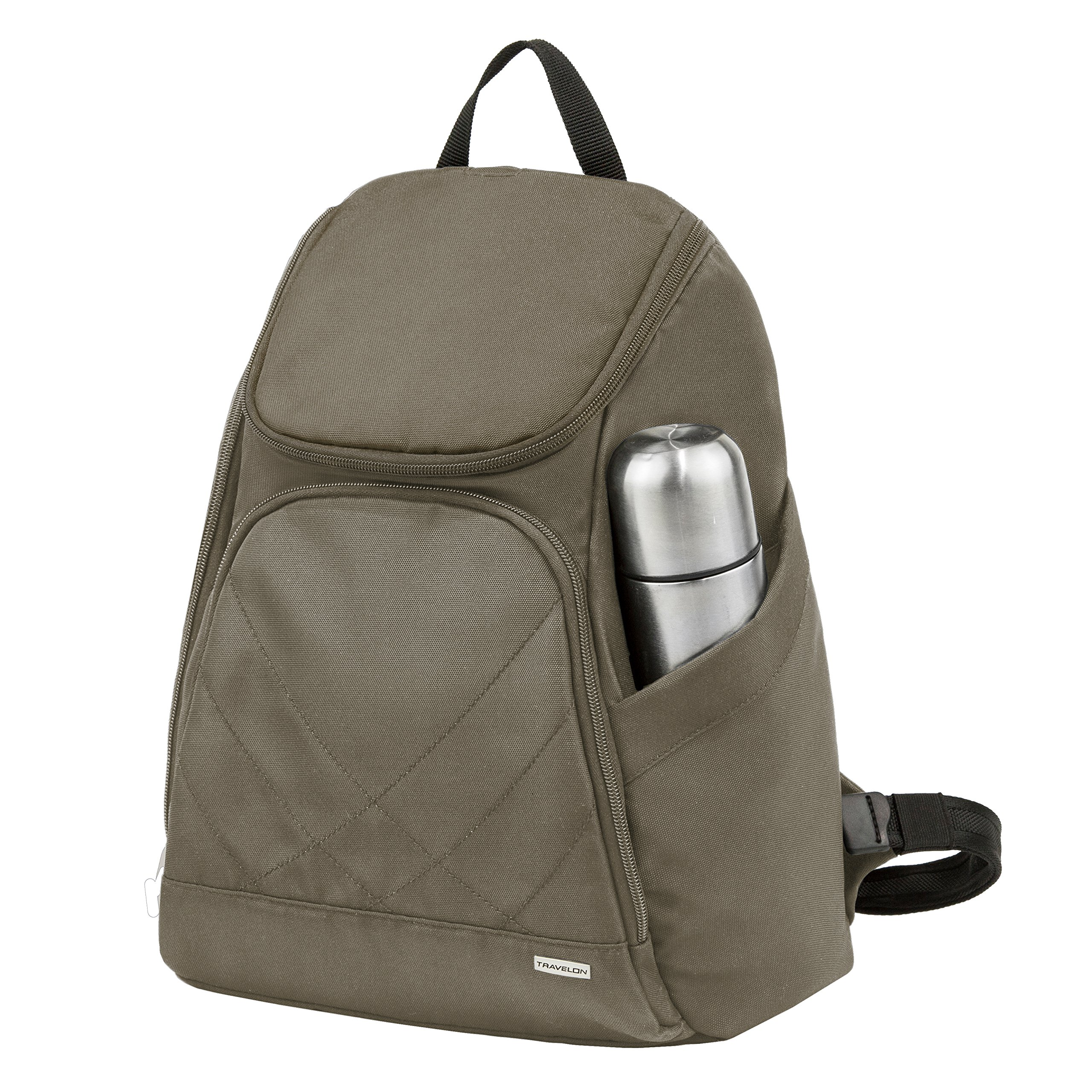 Travelon Anti Theft Classic Backpack, Nutmeg by Travelon