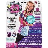 Sew Cool - 6024391 - Kit De Loisirs Créatifs - 10 Grandes Feutrines Avec Patrons - Barquette - Modèle Aléatoire