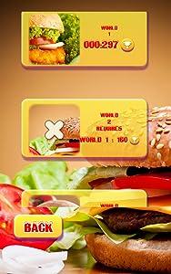 Match Three - Burger Nom-Nom from CandyLand Games