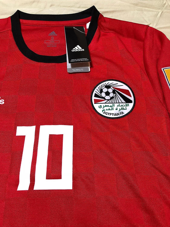 42f0986b372 Mohamed Salah  10 Egypt National Team Jersey Russia 2018 (S)