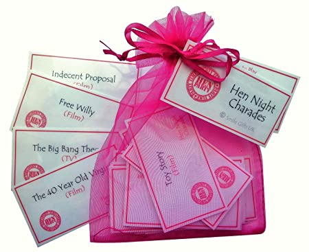 hen night charades hen party game suitable for hen nights hen