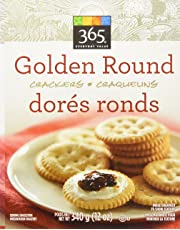 365 Everyday Value Golden Round Crackers, 12 oz