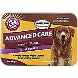 Arm & Hammer Advanced Care Tartar Control Dental Mints Dog Treats, Beef Flavor