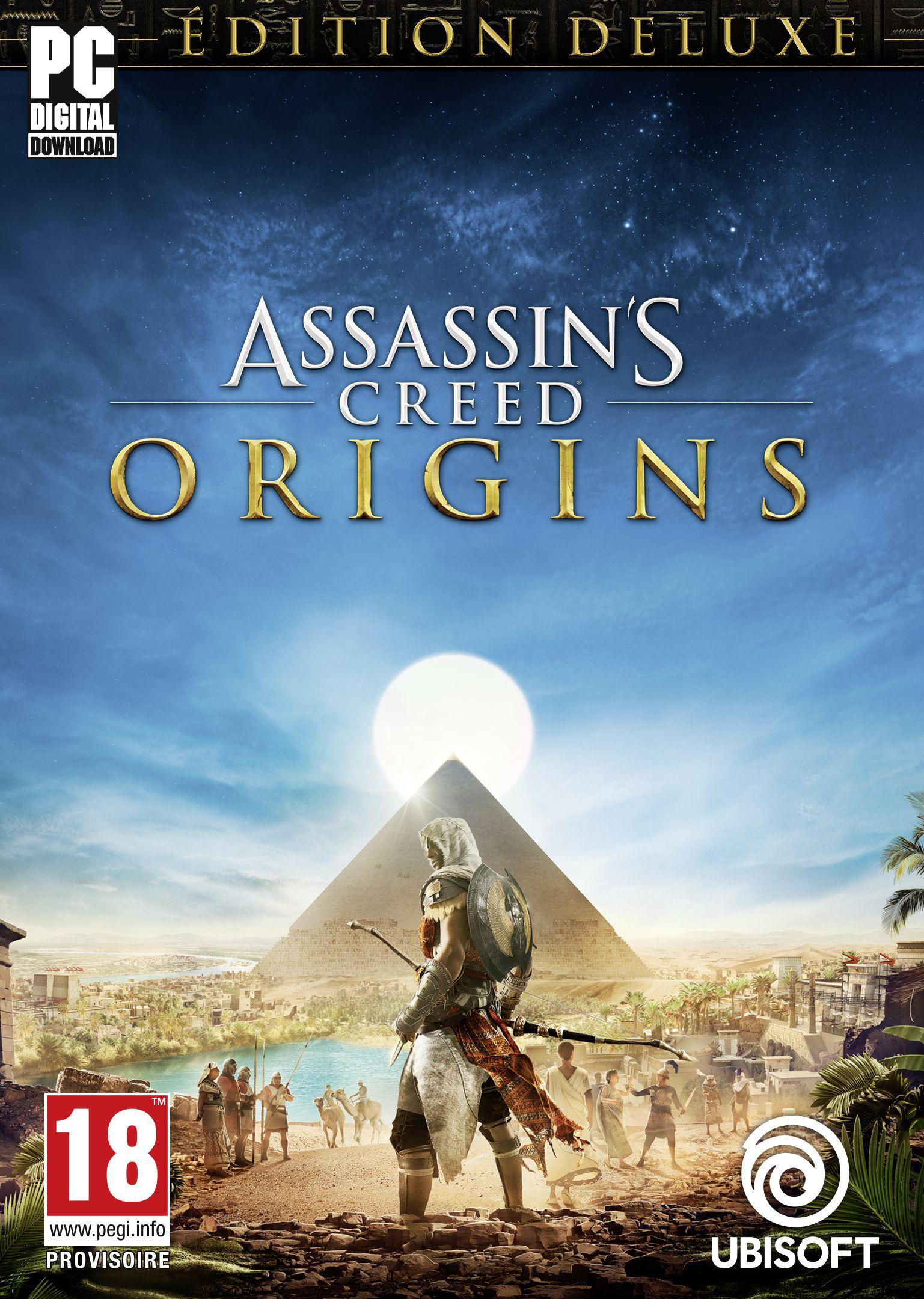 Assassin's Creed Origins - Édition Gold | Xbox One - Code jeu à  télécharger: Amazon.fr: Jeux vidéo