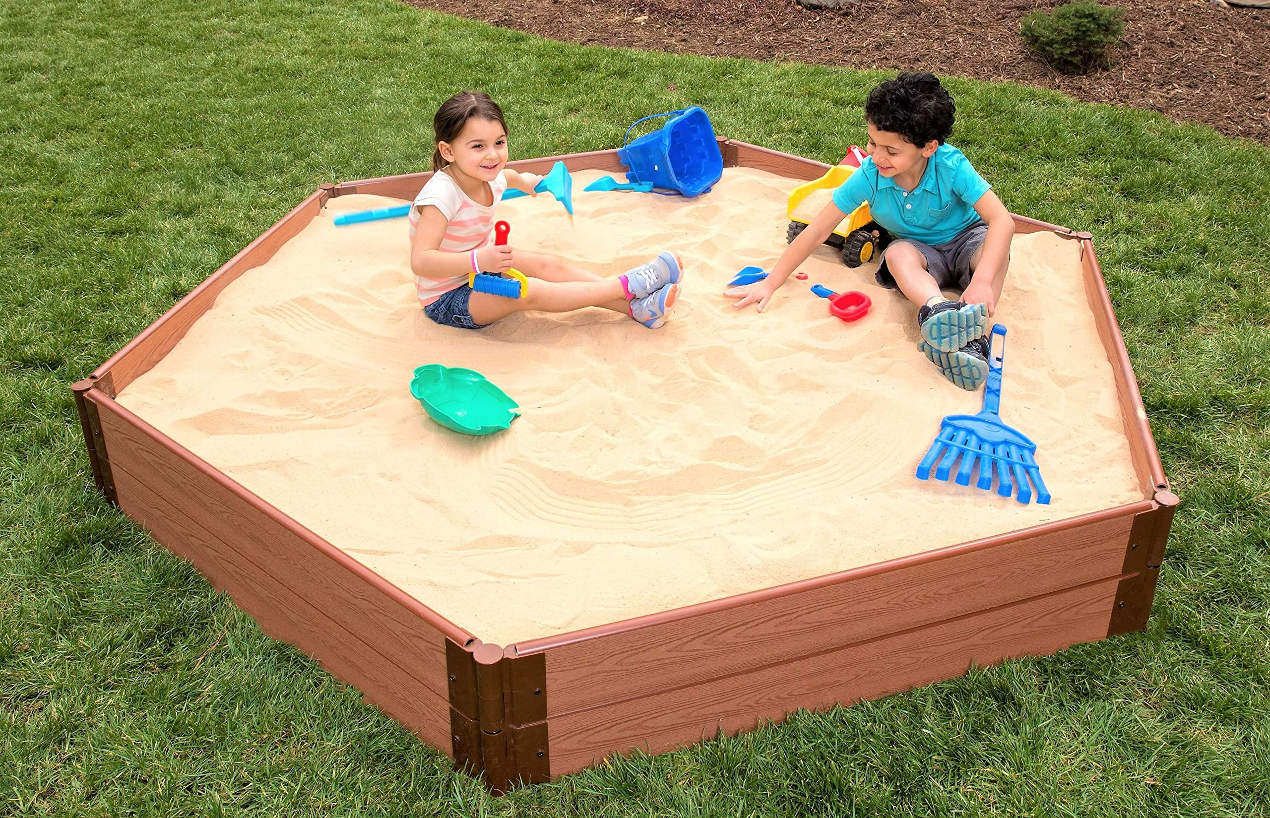 Frame It All 300001228 Sandbox Kit with Collapsible Cover by Frame It All (Image #3)