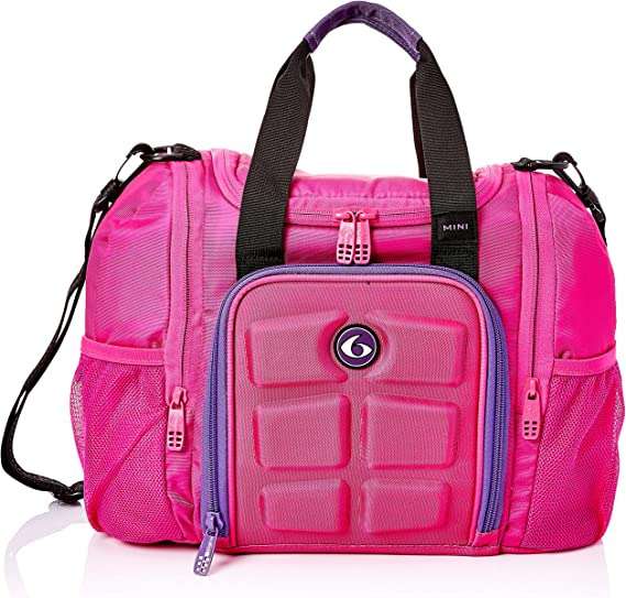 6 Pack Fitness Bag Mini Innovator Pink/Purple by 6 Pack Fitness ...