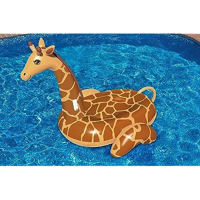 Swimline Giant Giraffe Pool Float: Toys & Games [5Bkhe0800601]