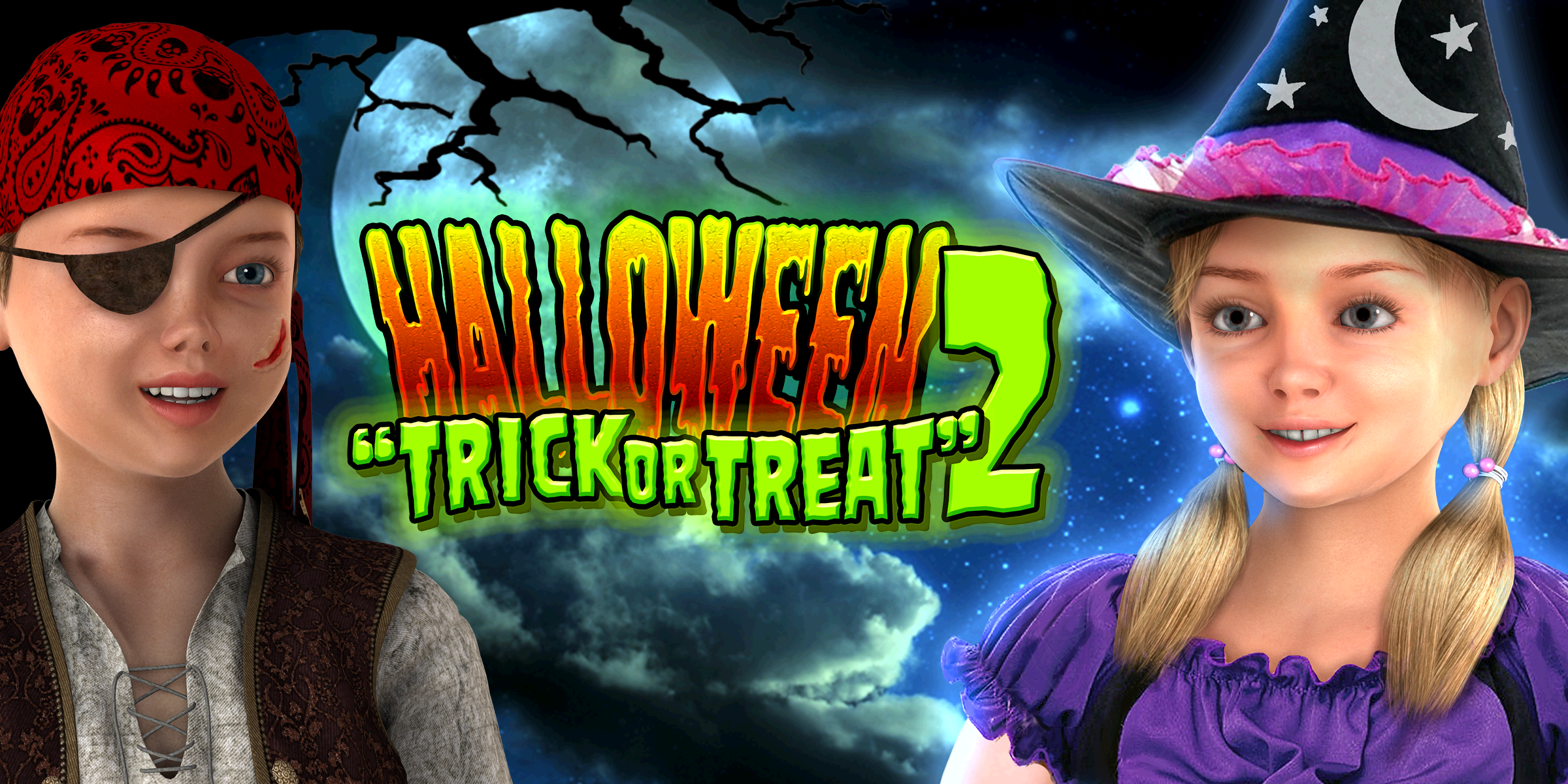 Halloween Spirits Locations (Halloween Trick or Treat 2 [Download])