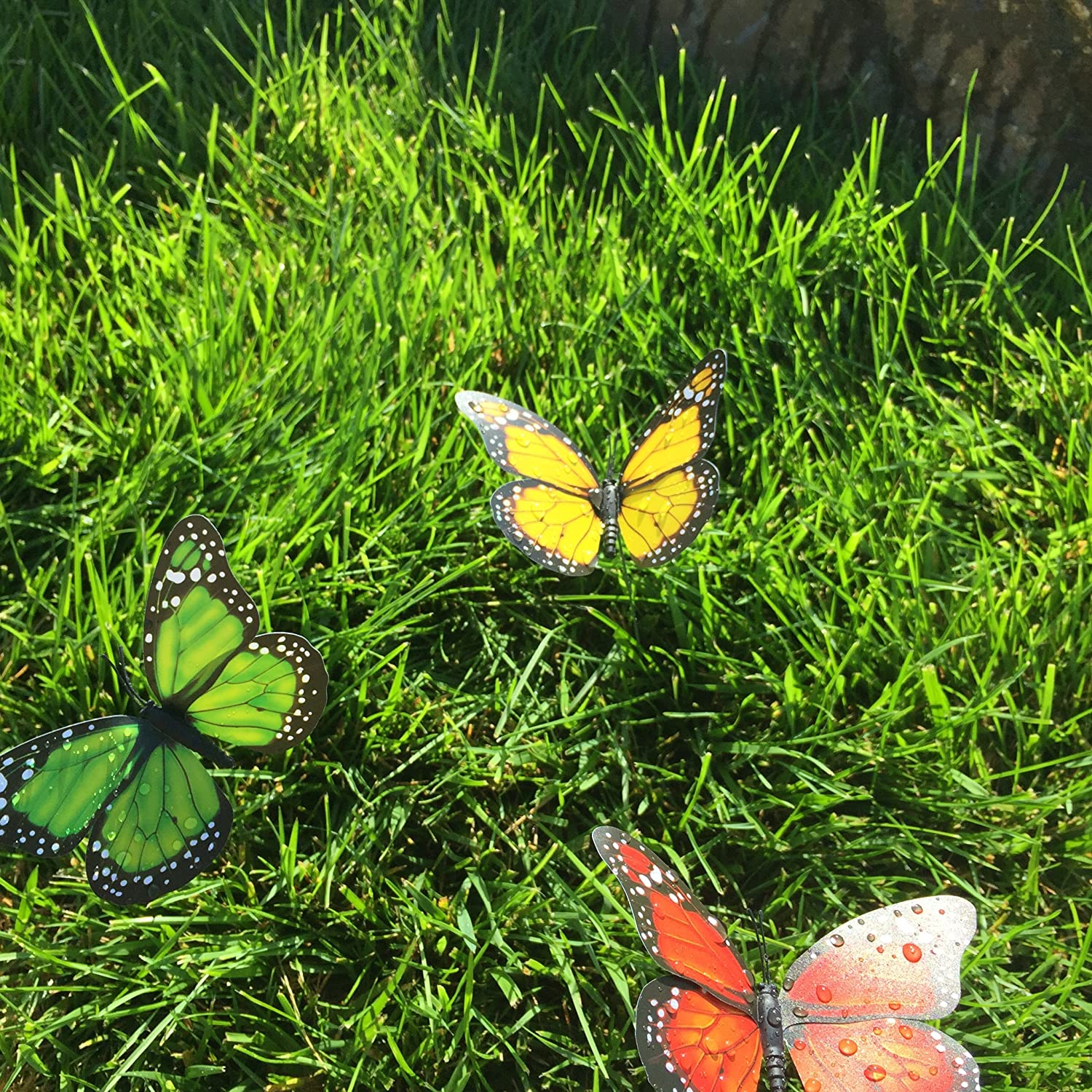 Butterfly Garden Ornaments & Patio Décor Butterfly Party Supplies ...