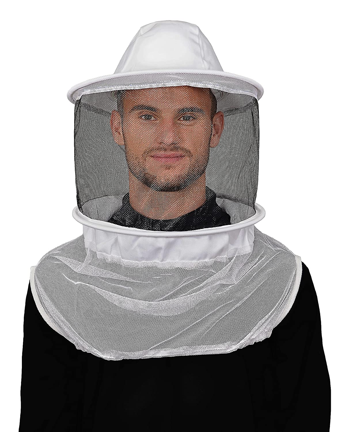Humble Bee 210-ST Polycotton Beekeeping Veil with Round Hat Sigma Lux