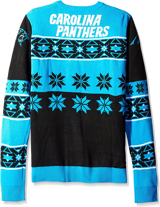 Klew NFL Unisex-Adult Big Logo Ugly Sweater