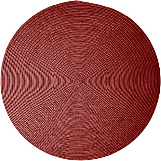 product image for Colonial Mills Boca Raton Area Rug 3x3 Sangria