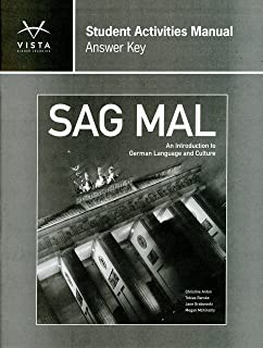 Second edition answer key for vista higher learning imaginez and sag mal answer key for student activities manual fandeluxe Image collections