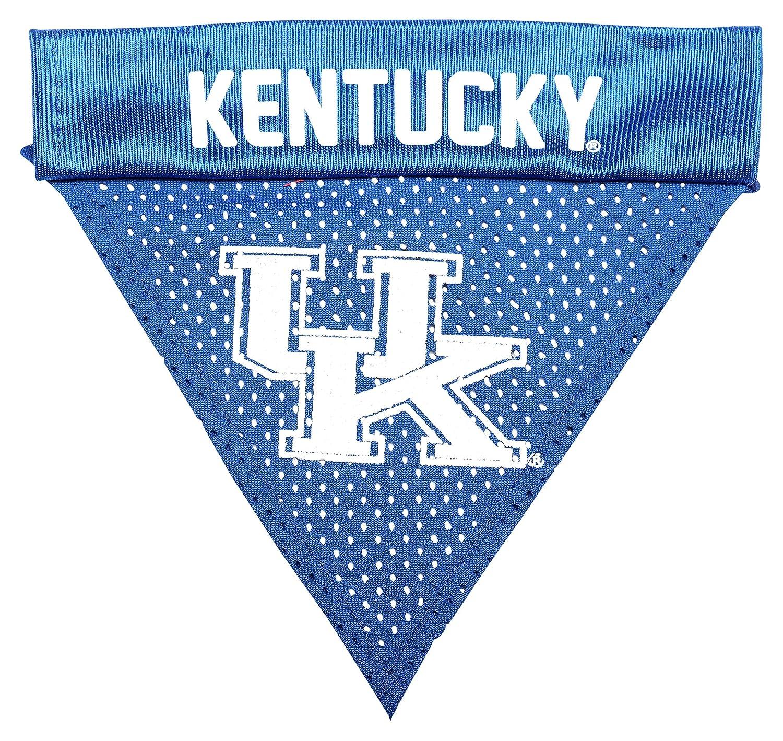 Pet Goods NCAA Kentucky Wildcats Collar Bandana, One Size COLBAN-056