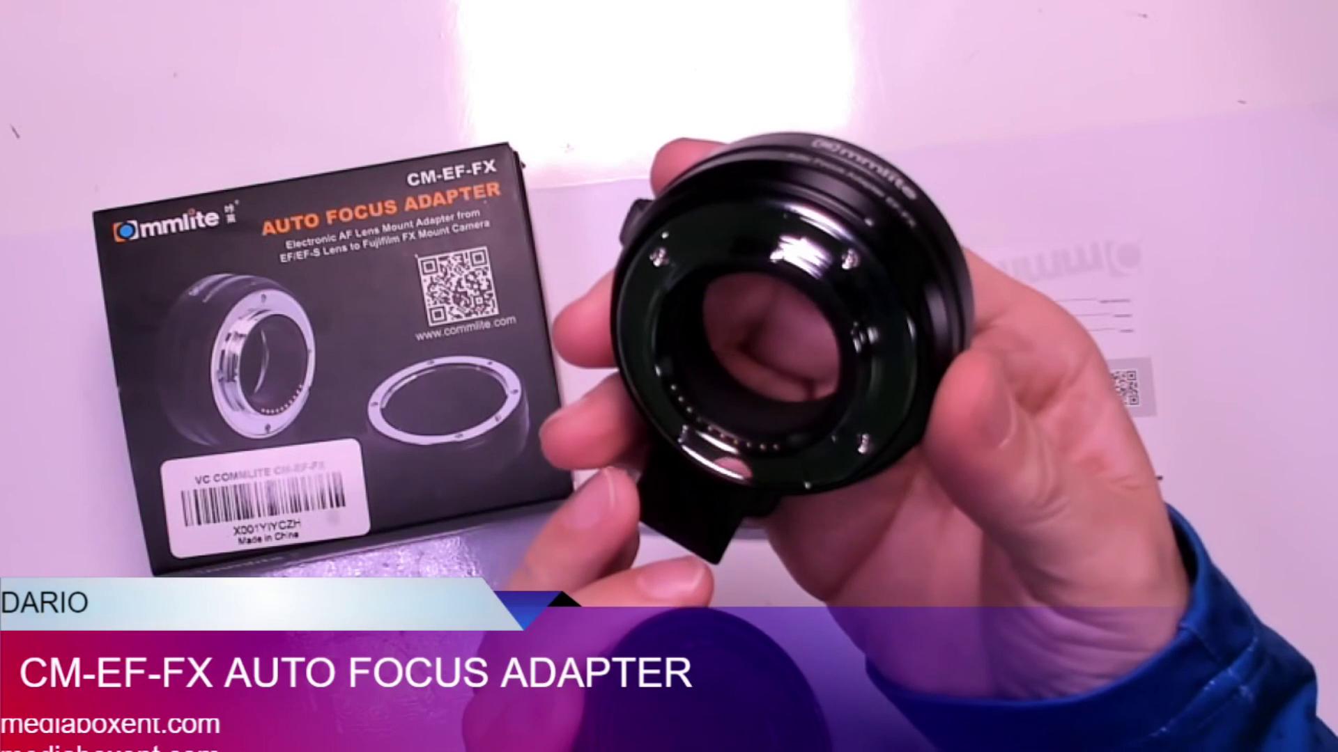 Adaptador del objetivo para t2 puerto a objetiva Canon EOS cámaras