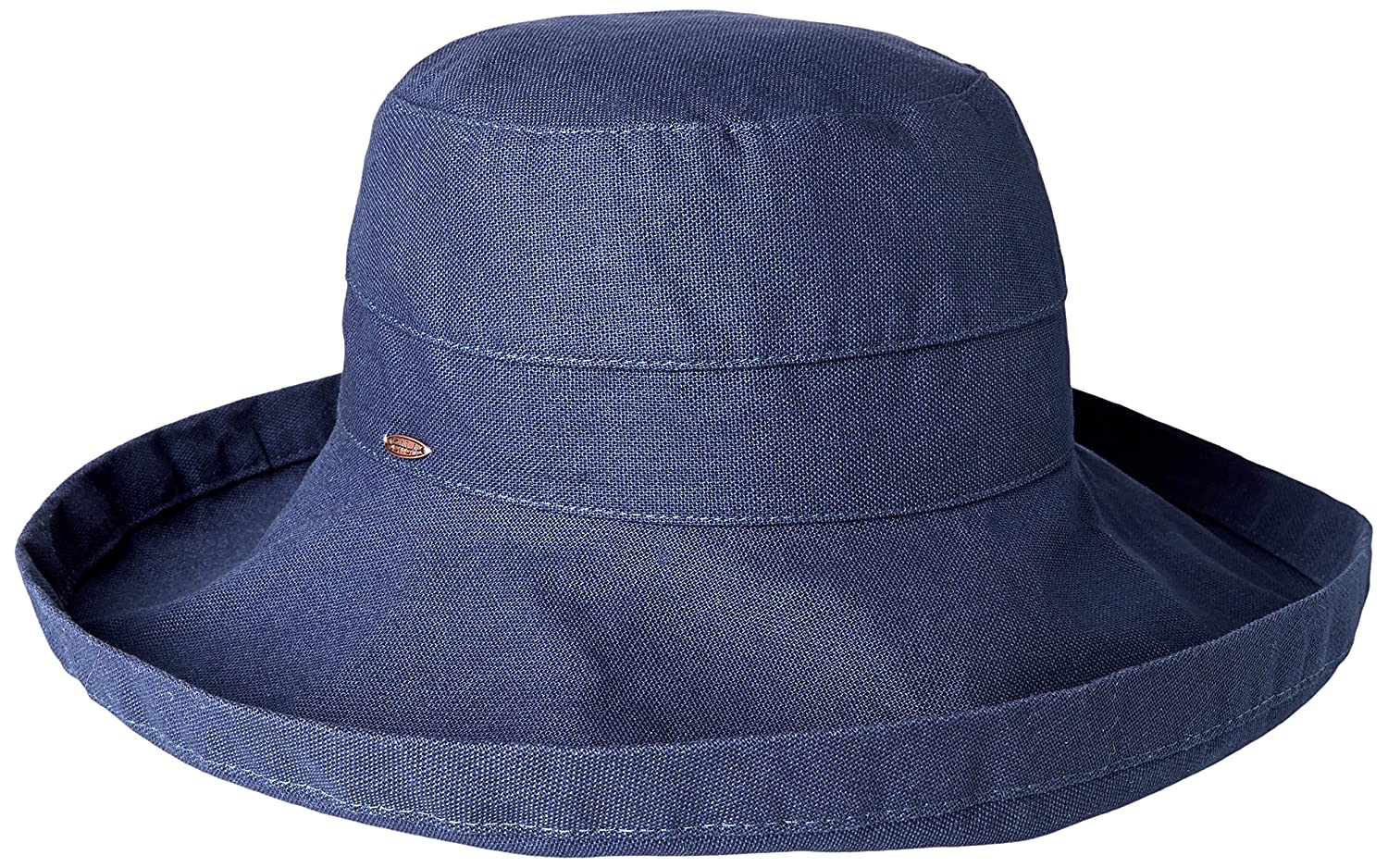 9214ed8c Dorfman Pacific Women's Summer Sun Hat (Navy) at Amazon Women's Clothing  store: Scala Hats