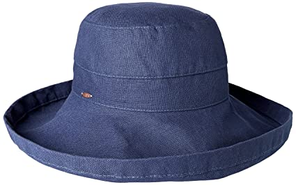 1e66f6e74af Dorfman Pacific Women s Summer Sun Hat (Navy) at Amazon Women s Clothing  store  Scala Hats