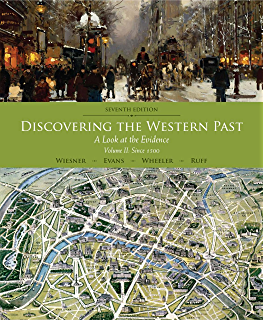 Amazon western civilizations their history their culture discovering the western past volume ii since 1500 2 fandeluxe Choice Image