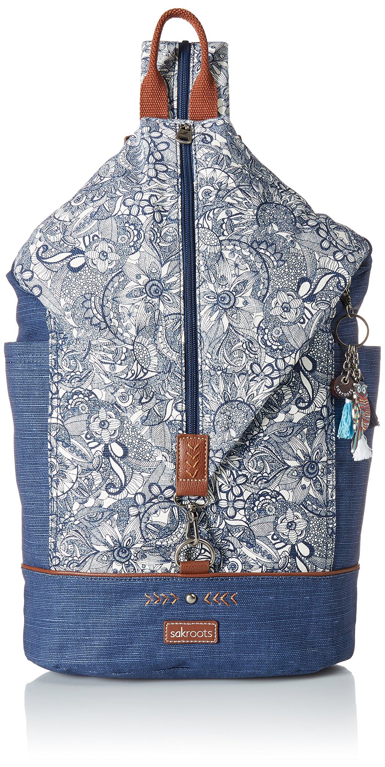 Sakroots City Backpack, Navy Spirit Desert, One Size