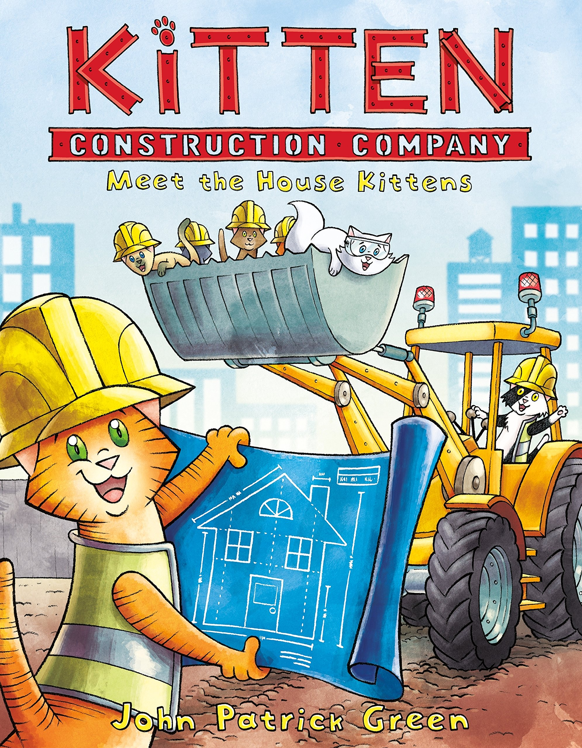 Image result for kitten construction company book 1
