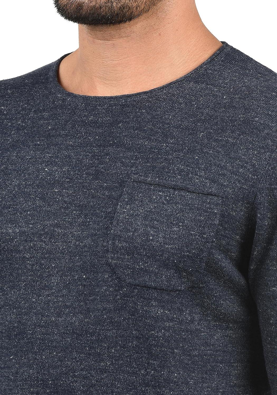 Jack /& Jones Lior Mens Jumper Knit Pullover with O-Neck