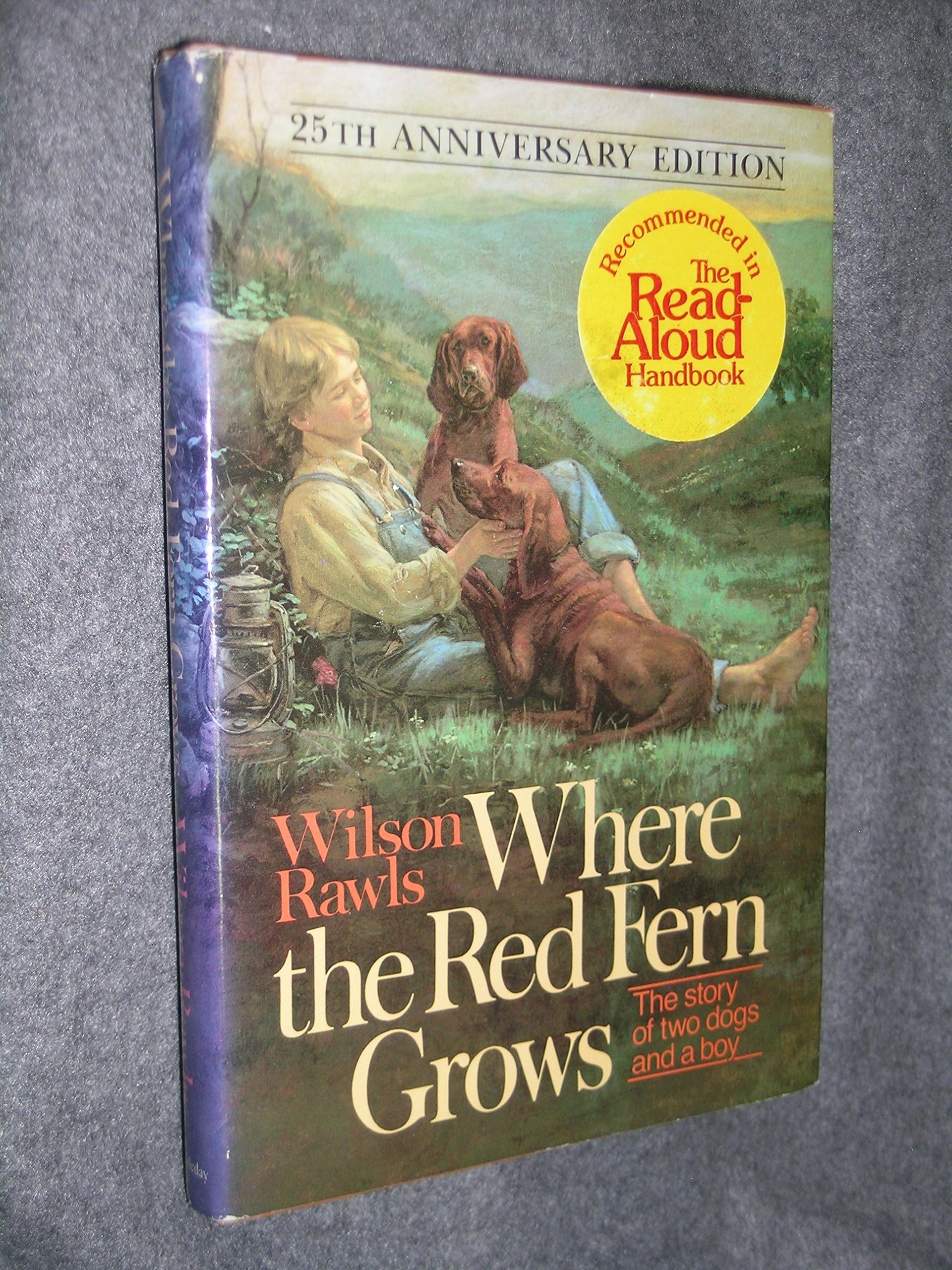 Where the Red Fern Grows, 1st Edition: Wilson Rawls: 9780385020596:  Amazon.com: Books