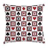 Ambesonne Casino Throw Pillow Cushion