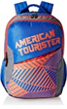 American Tourister Blue Casual Backpack (AMT CRUNK 2017 BKPK 02- R BLUE)