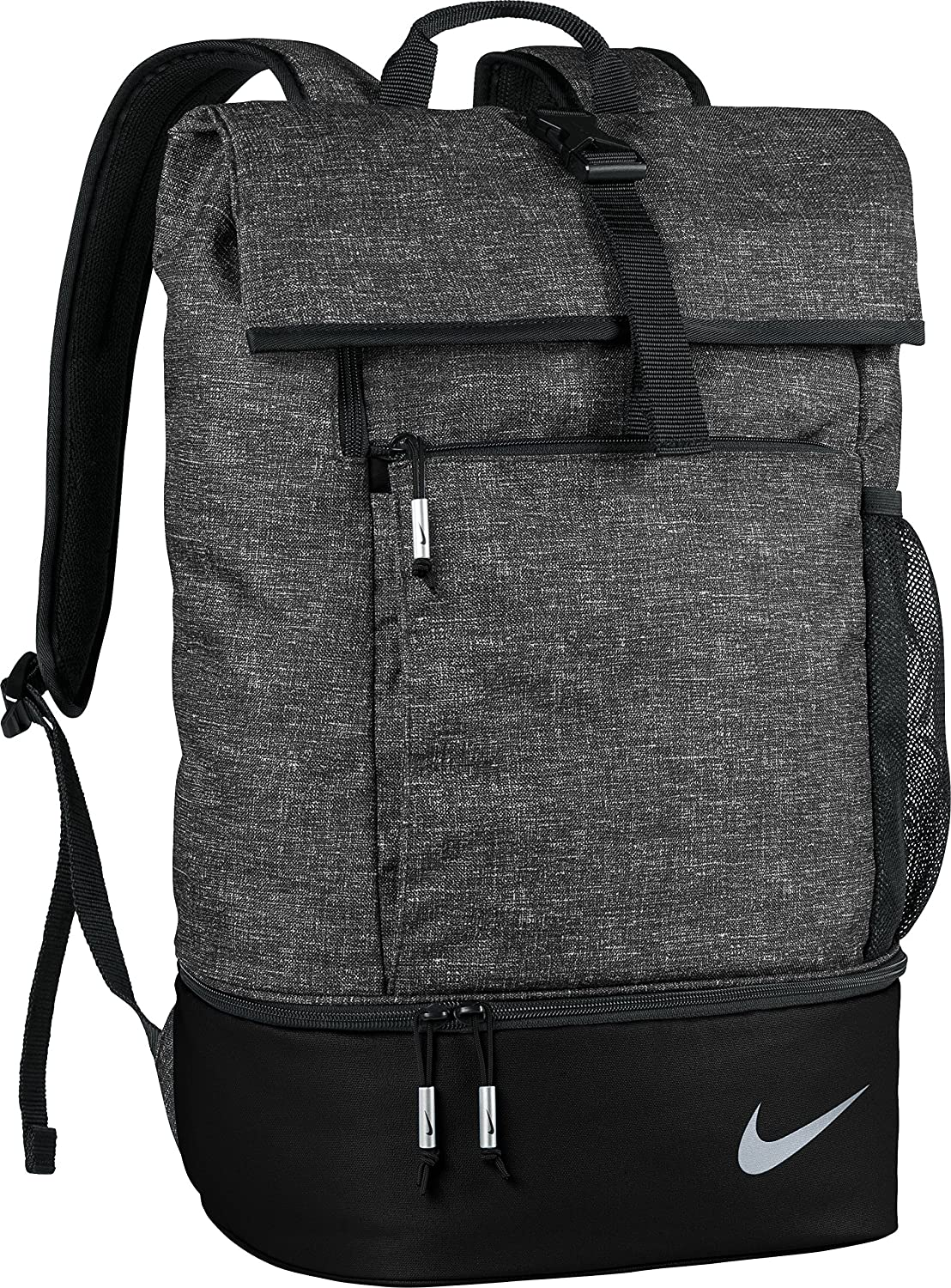 Amazon.com  Nike Sport III Golf Backpack (Black Heather)  Sports   Outdoors 31d02a26c