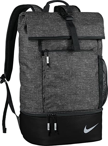 Amazon.com  Nike Sport III Golf Backpack (Black Heather)  Sports ... dd9a2874825a4