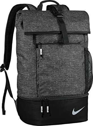 7ed88c2c6bd827 Nike Sport Backpack with Shoe Storage - Black/ Silver: Amazon.ca ...