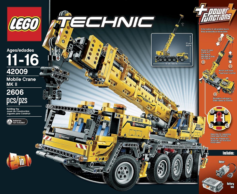 Amazoncom Lego Technic 42009 Mobile Crane Mk Iidiscontinued By