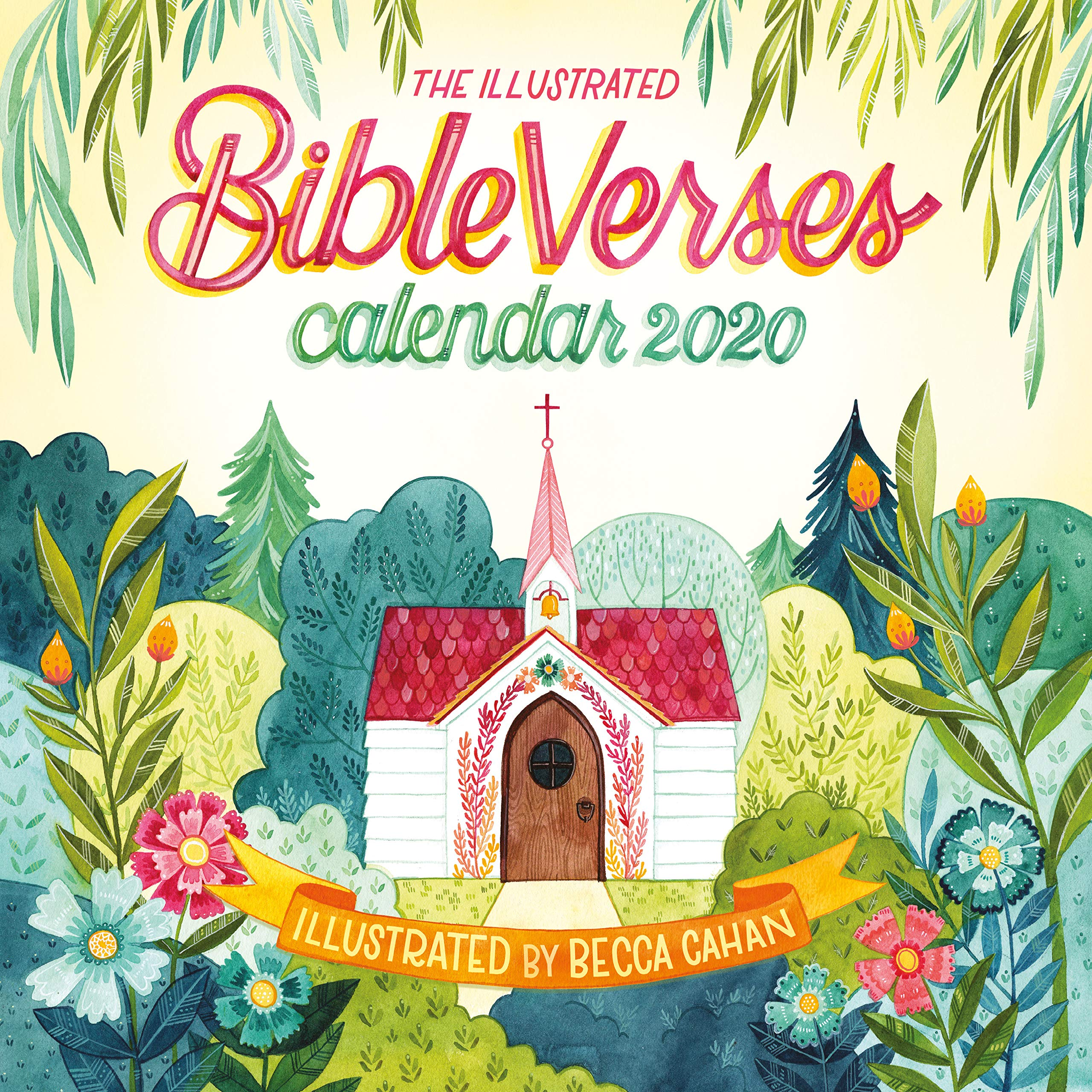 Illustrated Bible Verses Wall Calendar 2020 by Workman Publishing Company