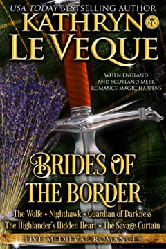 Brides of the Borders: Five Medieval England Scotland Romances